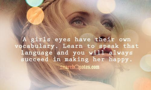 Behind A Girls Eyes Quotes Quotations Sayings 2019