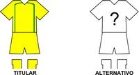 Uniforme Selección Ypané de Fútbol