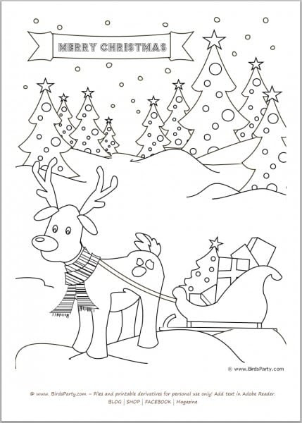 FREE Christmas Kids' Activity Sheets and Coloring Sheets ...