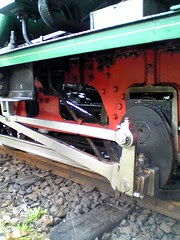 Close-up of ABT Locomotive