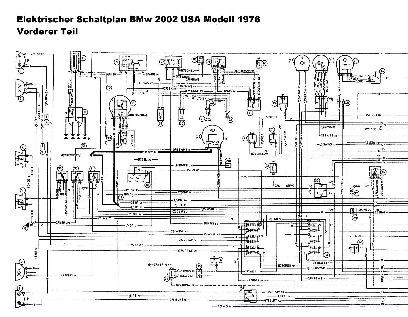 Bmw 1974 2002 Auto Wire Diagram - Wiring Diagramspsicologoafaenza.it