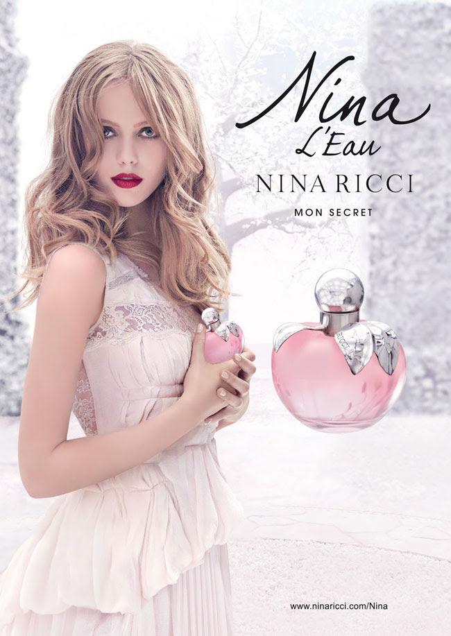 1 frida gustavsson nina ricci nina eau parfum Parfum Nina L'eau de Nina Ricci : Conte dHiver avec Frida Gustavsson
