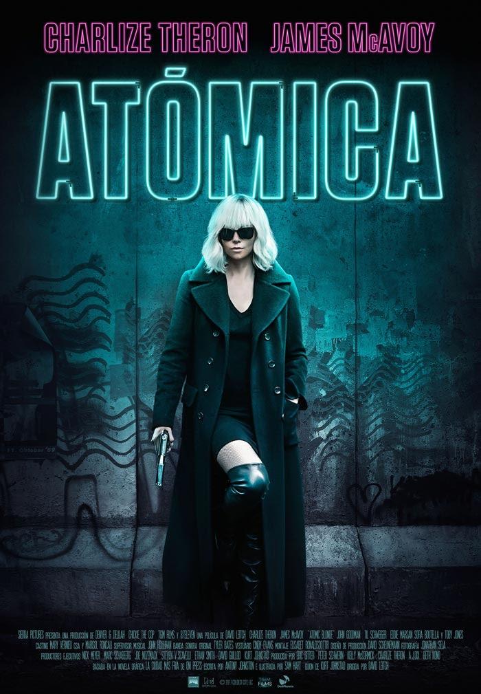 Resultado de imagen para Atómica poster