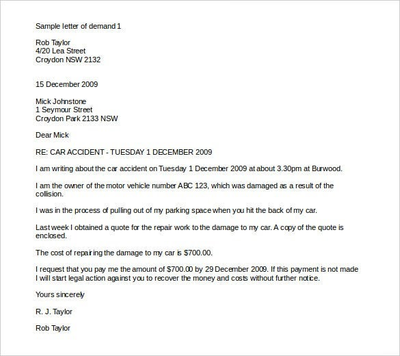 A Demand Letter For Payment from lh6.googleusercontent.com