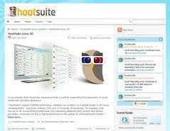 Hootsuite Goes 3D