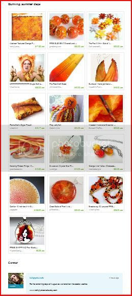 Burning Summer Days Treasury
