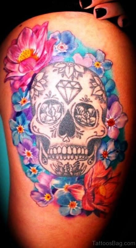68 Brilliant Skull Tattoos On Shoulder