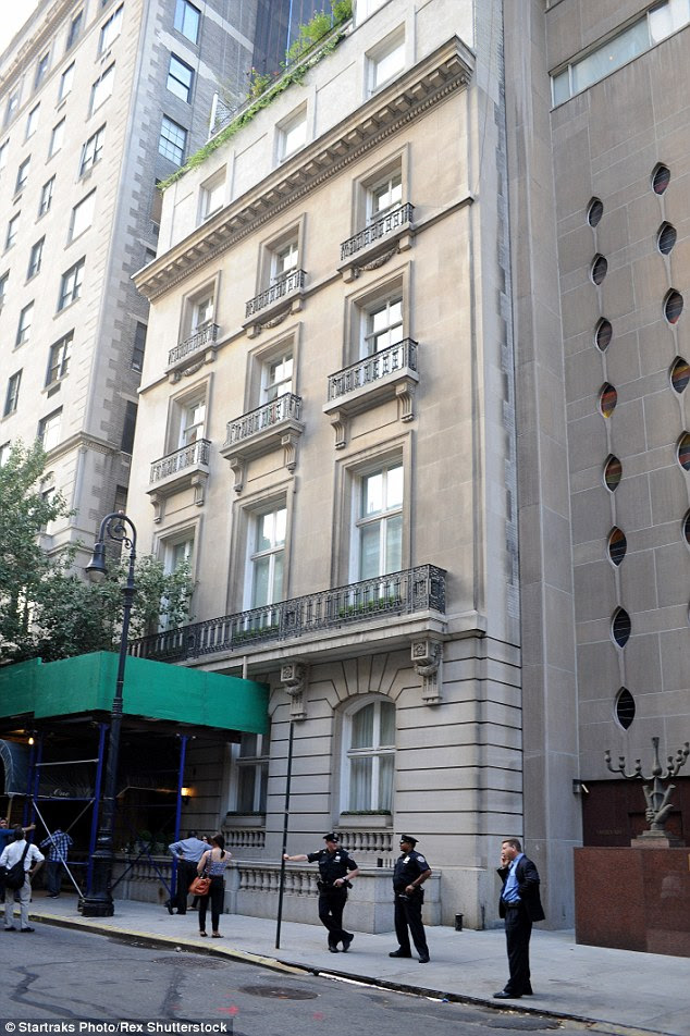 A gem:The structure was built in 1903 by millionaire John Drexel, with the building - located just off Fifth Avenue at 1 E. 62nd Street - being converted into condos in the 1930s