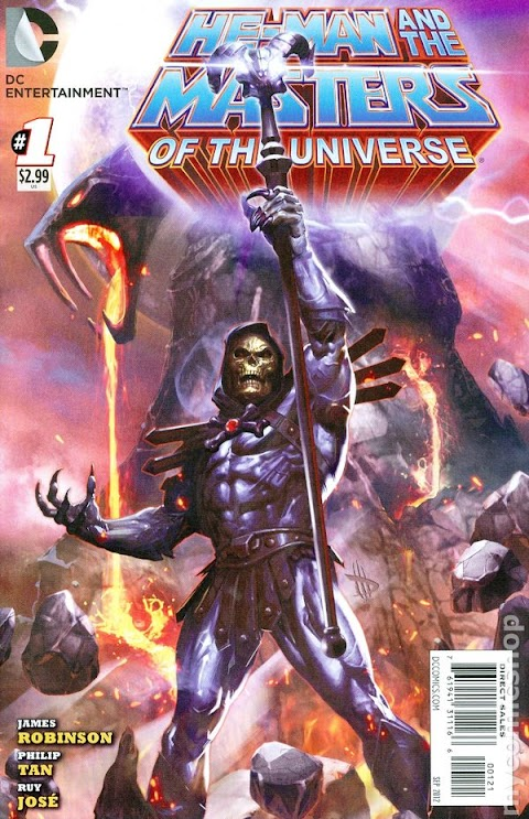He Man And The Masters Of The Universe Comic 2012