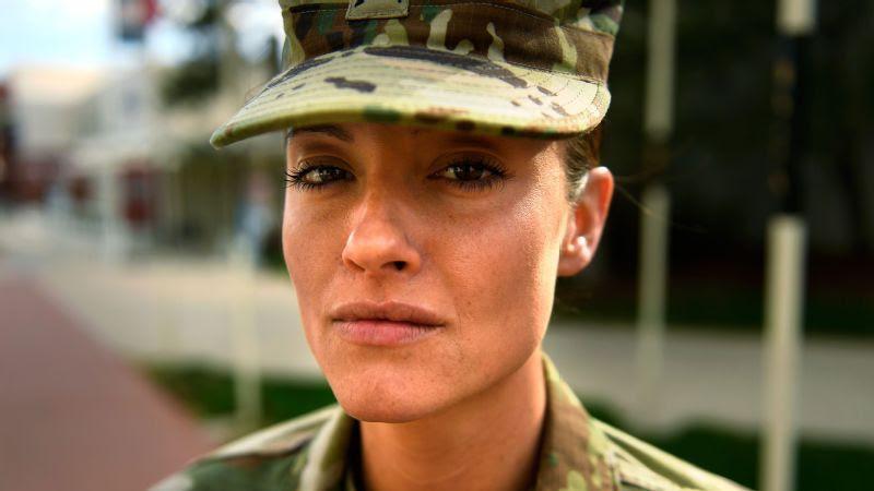 U.S. Army Sgt. Elizabeth Marks