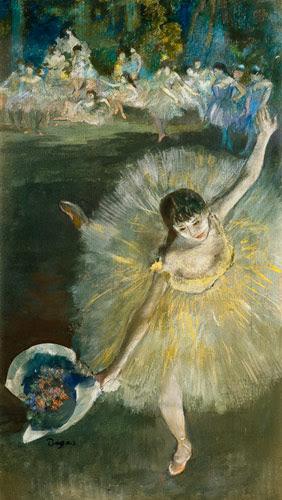 Edgar Degas - End of an Arabesque