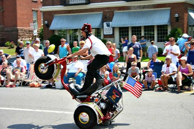 fourth july wheelie