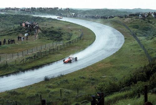 Zandvoort in the rain, 1968