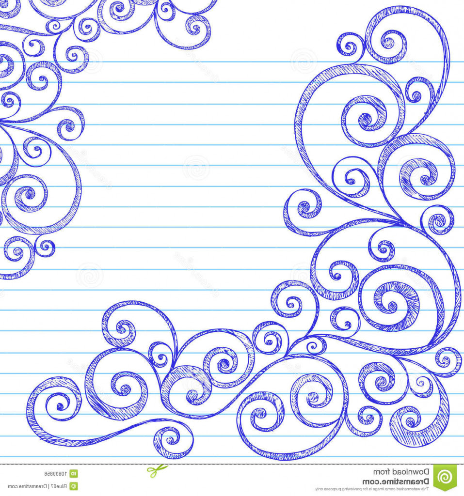 Border Design Drawing At Getdrawingscom Free For Personal Use