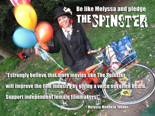 Melyssa Mendoza backed The Spinster