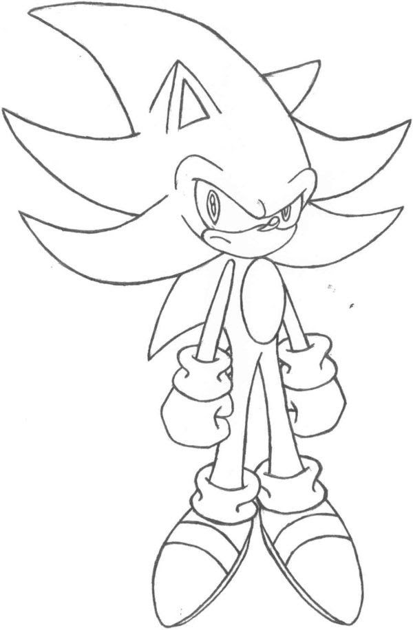 Super Sonic Online Coloring Pages - Coloring Home