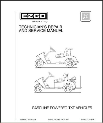 Wiring Diagram  28 Ez Go Txt Parts Diagram