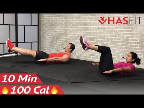minute abs workout for women  men at home  min ab