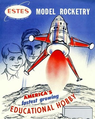 Estes Mars Lander by S.R. Breitenstein