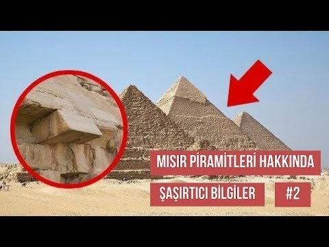Piramitler Hakkında Şaşırtıcı Bilgiler Bölüm #2 (Türkçe Video Anlatım)