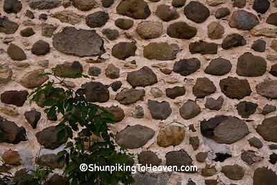 Fieldstone Walls of Historic Chase Stone Barn, Oconto County, Wisconsin