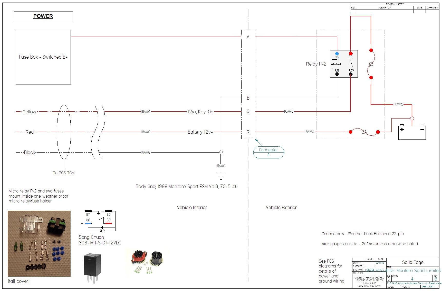 Wiring Diagram For Mitsubishi Montero Sport