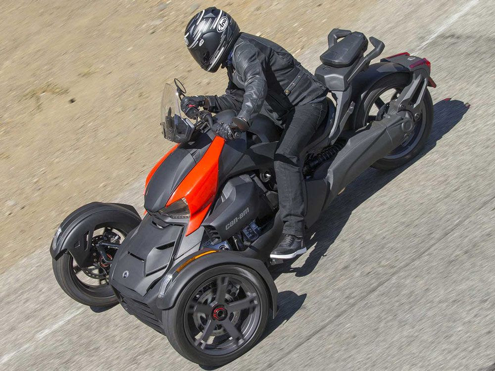 Can Ams 2019 Ryker Insists Three Wheelers Arent Just For
