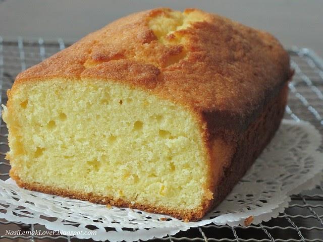 Moist Orange Butter Cake