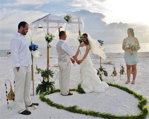 Affordable Florida Beach Weddings, Clearwater Beach