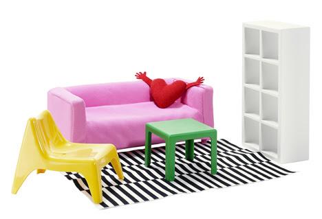 casa muñecas ikea 6 Ikea lanza la versión casita de muñecas de sus muebles
