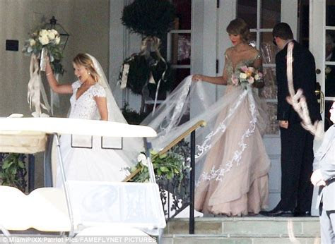 Here comes the bridesmaid! Taylor Swift serves maid of