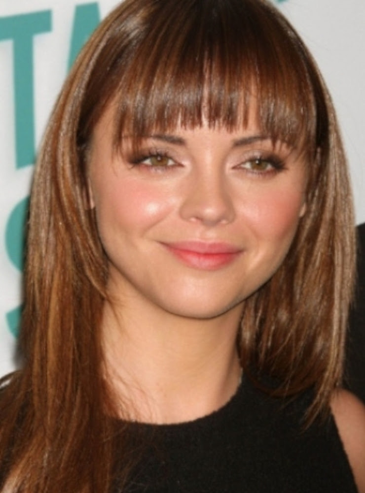 Diverse Modish Types of Bangs for Round Face | Hairstyles 2017, Hair Colors and Haircuts