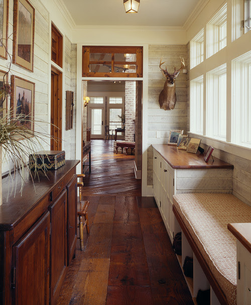 lowcountry river house traditional hall