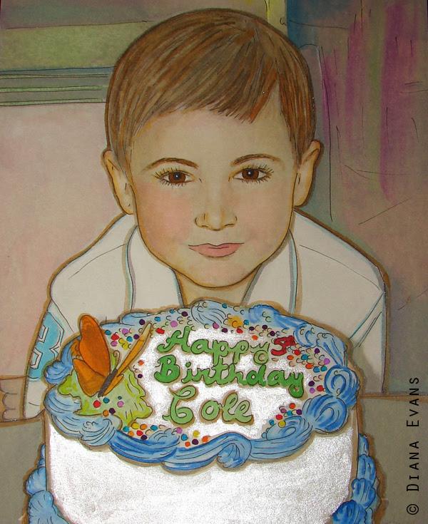 Cole Happy 5th Birthday
