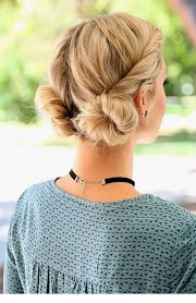 Chic summer hairstyle idea