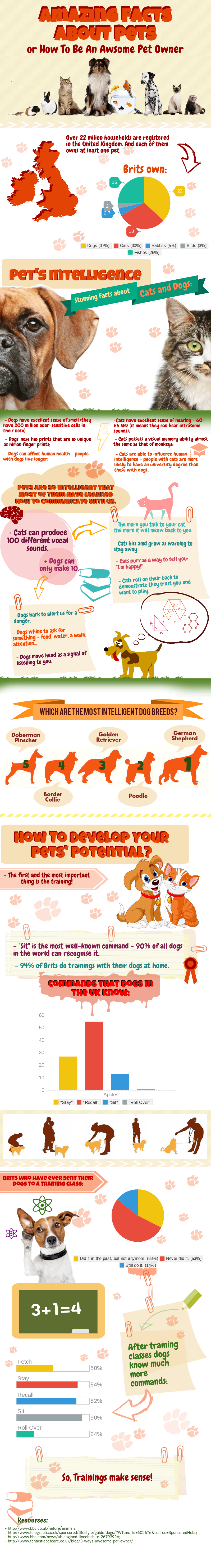 Infographic: Amazing Facts About Pets