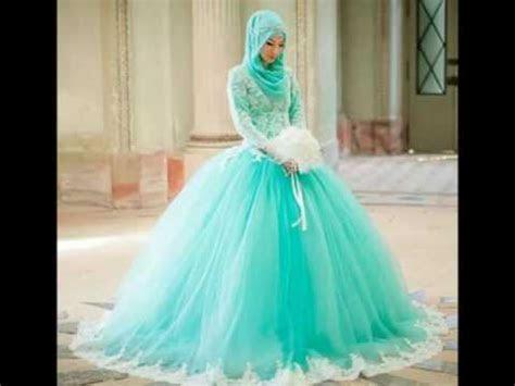 gaun pengantin muslimah modern youtube