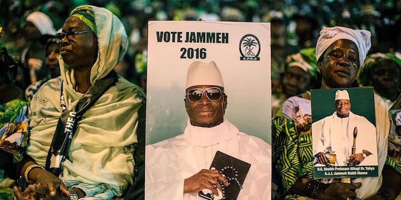 GAMBIA-POLITICS-VOTE-UNREST