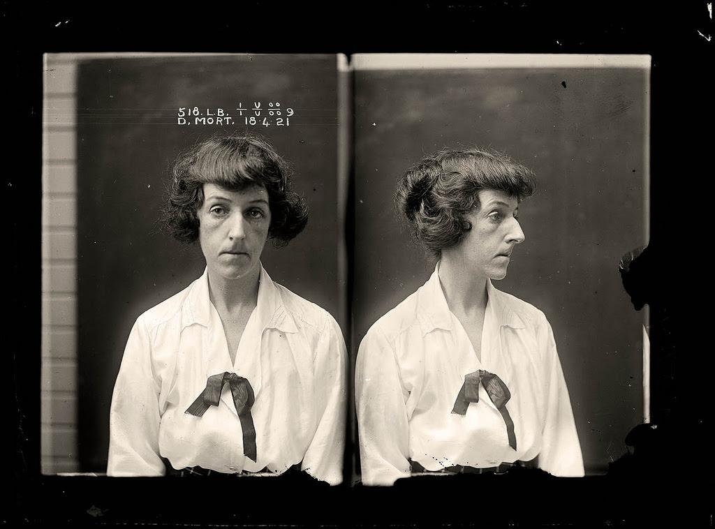 photo police sydney australie mugshot 1920 10 Portraits de criminels australiens dans les années 1920  photo photographie histoire featured art