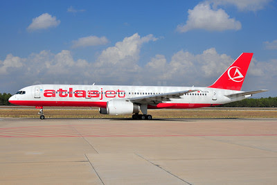 Atlasjet Airlines Boeing 757-256 TC-ETG (msn 26254) AYT (Ton Jochems). Image: 905438.