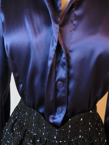 Hidden buttonholes