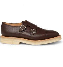 Mark Mcnairy Crepe Sole Double Monk-strap Shoes