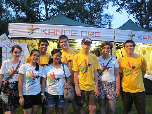 Kanpe volunteer crew in Toronto!