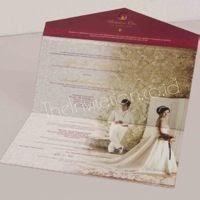 Kartu Undangan Pernikahan Mewah