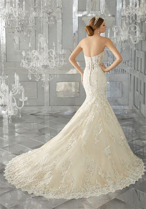 melrose wedding dress style  morilee