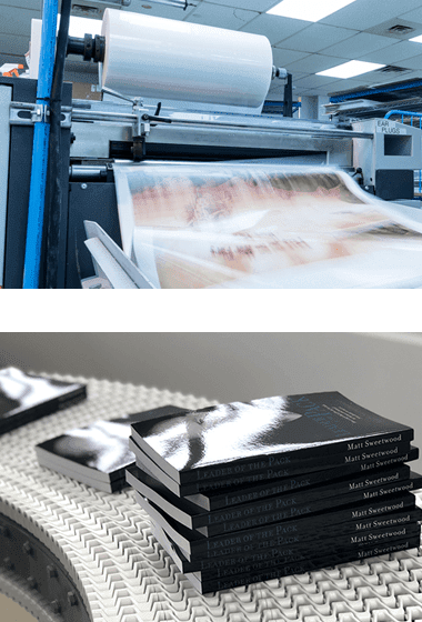 Cost-effective, large quantity offset book printing for businesses and organizations.