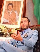 Al-Saadi, terzogenito di Gheddafi