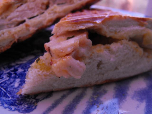 Garlic Chicken Panini