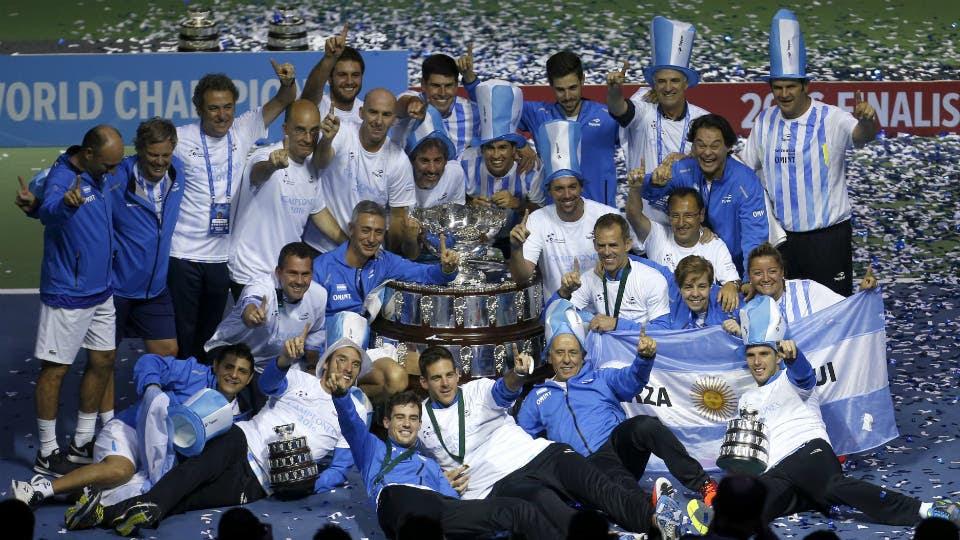 Para el recuerdo: la Copa Davis, en manos argentinas