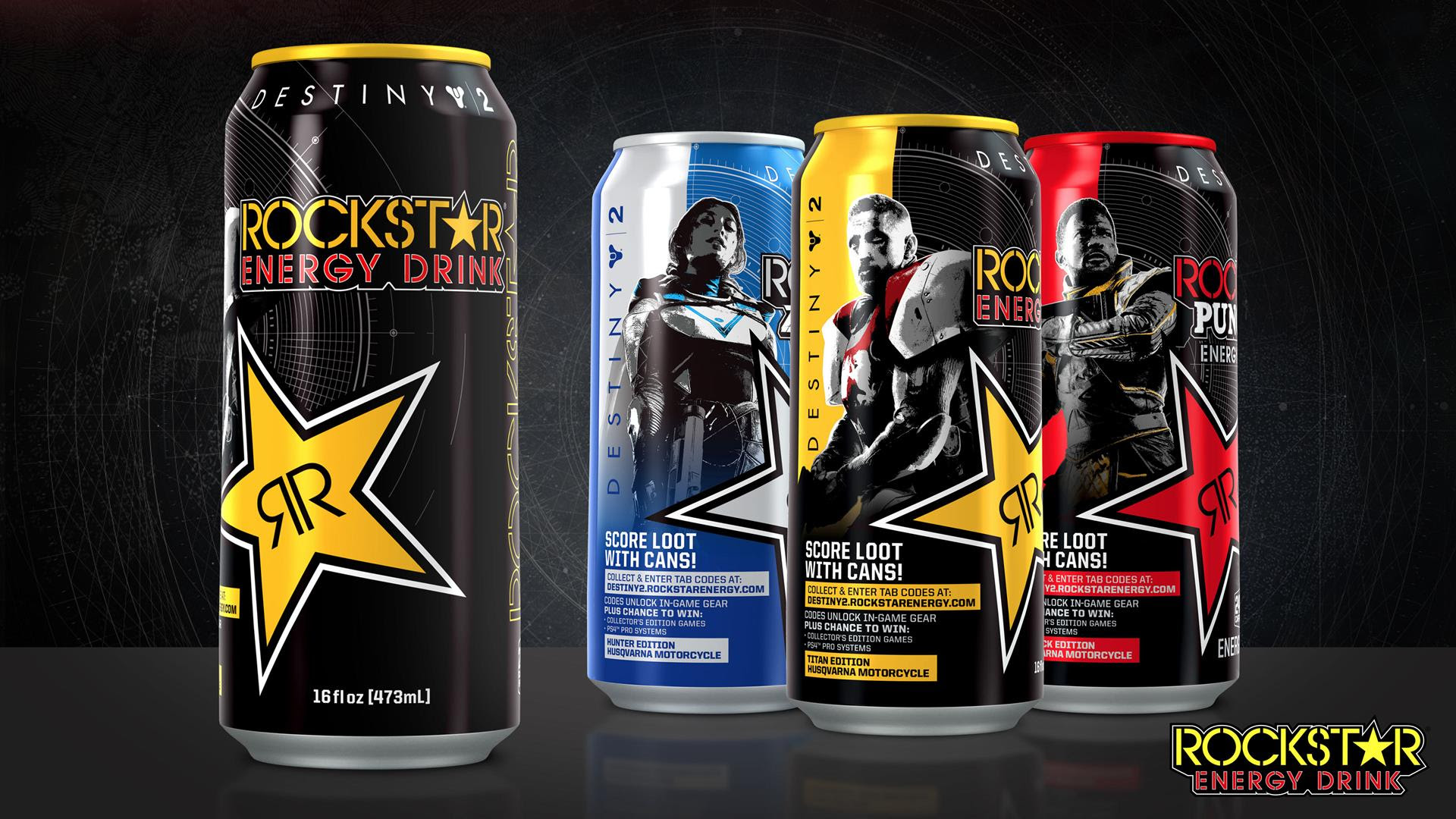 Destiny 2 announces promotion with Pop-Tarts and Rockstar energy drinks screenshot